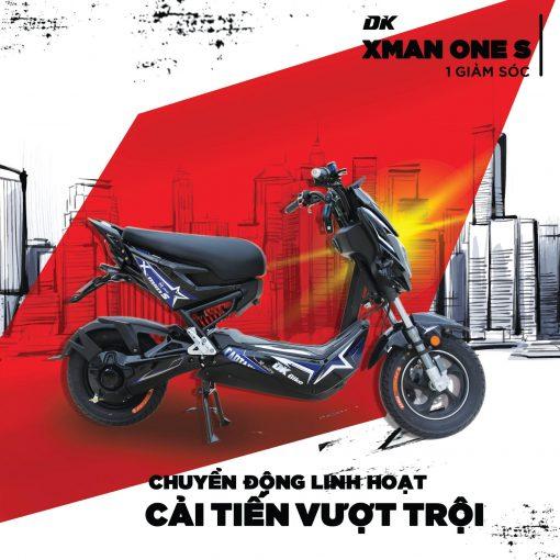 Xe Máy Điện Dk Xman One 1Gs ( 1 giảm sóc )